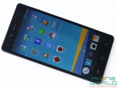 infinix hot 4 specifications front display