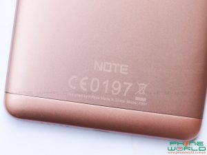 infinix note 3 back cover
