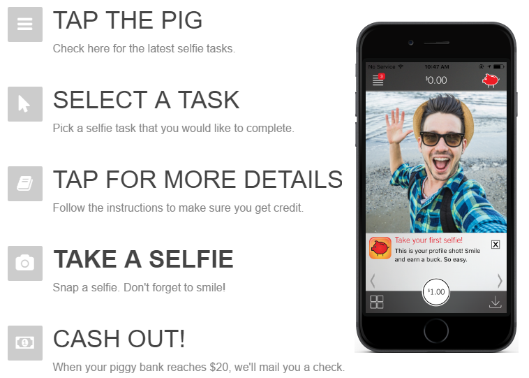 Pay Your Selfie: A Marketing Startup that Pays People for Taking Selfies