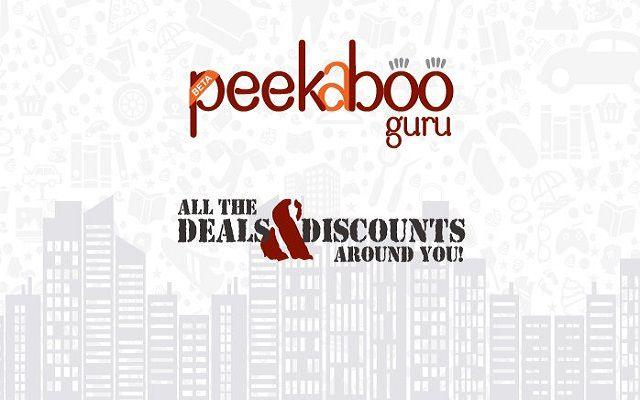 Peekaboo Guru: A Location-Based App that Shows Best Deals and Discounts