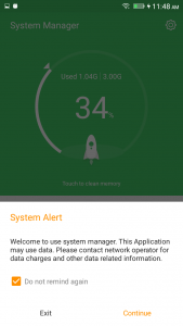 qmobile noir lt700 pro android marshmallow amigo 3.1 interface