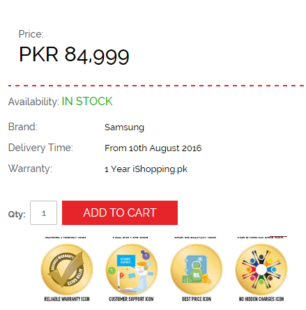 Pre-order your Note 7 in Pakistan
