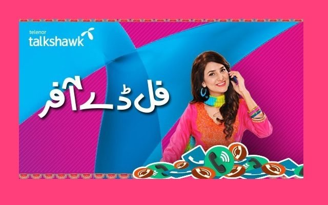 Telenor Talkshawk Introduces Full Day Offer in Just Rs 12