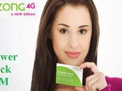 Zong Introduces Power Pack SIM with 3 Monthly Packages