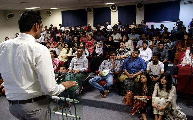 Muhsen, Being Part of Ufone's Unsung Heroes Campaign, Delivers Motivational Speech at Islamabad Universities