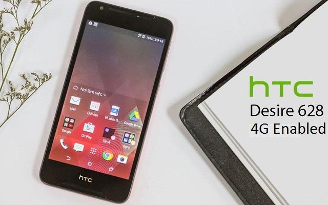 HTC Launches Desire 628 4G LTE Smartphone in Pakistan