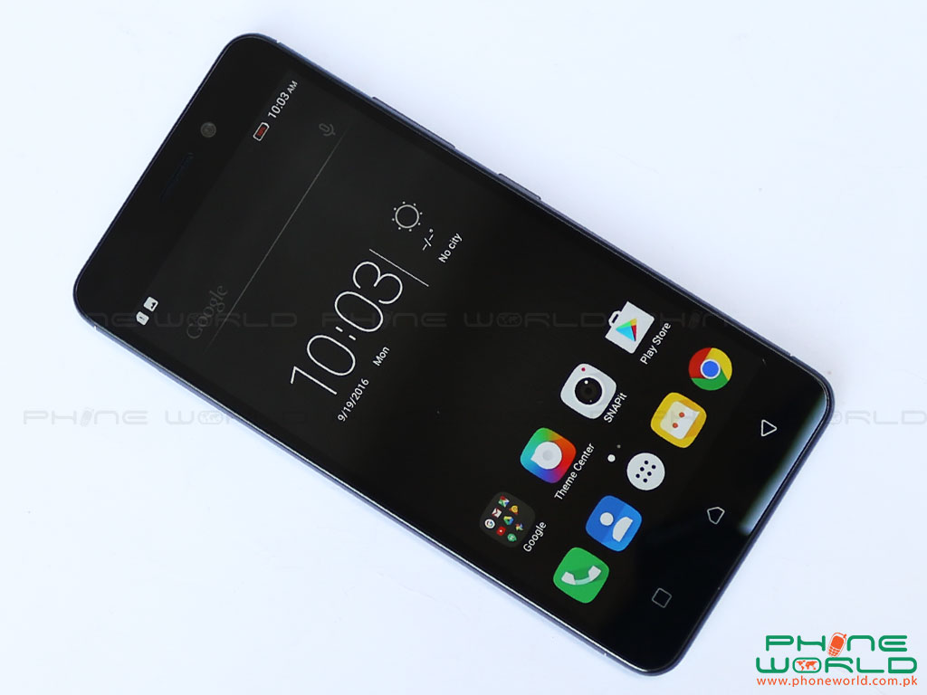 lenovo k6 front display