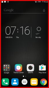 lenovo k6 interface display