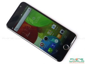 qmobile noir s6 front display