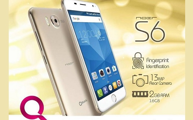 QMobile Launches Lower Price Noir S6 with Finger Print Protection