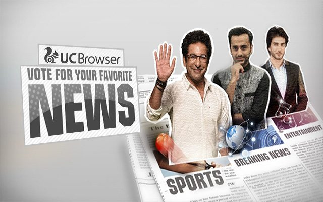 UC Browser Announces Online Competition between 3 Top Pakistani Celebrities