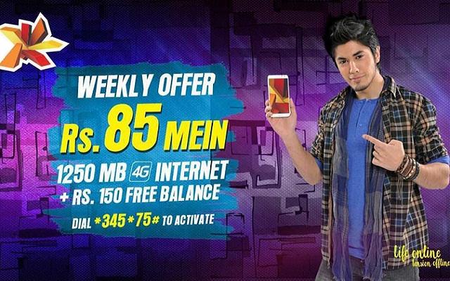 Telenor djuice Brings Weekly 4G Internet All in One Offer