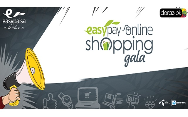 Easypay Online Shopping Gala–Avail Amazing Discounts at Daraz.pk