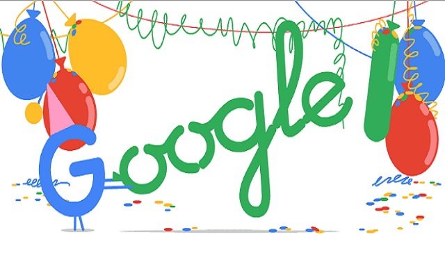 Google is Officially an Adult Now-Celebrating 18th Birthday with A Doodle