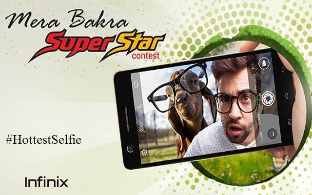 Get A Chance to Win Infinix Hot S by Taking Selfie with Your Eid Animal