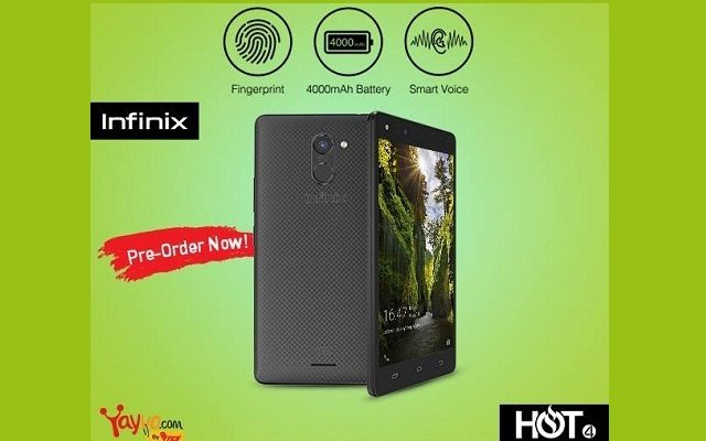 Infinix Hot 4 Now Available for Pre-order on yayvo.com