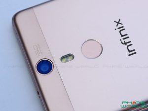 infinix hot s pro x521back camera fingerprint scanner