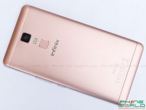 infinix note 3 pro back cover golden