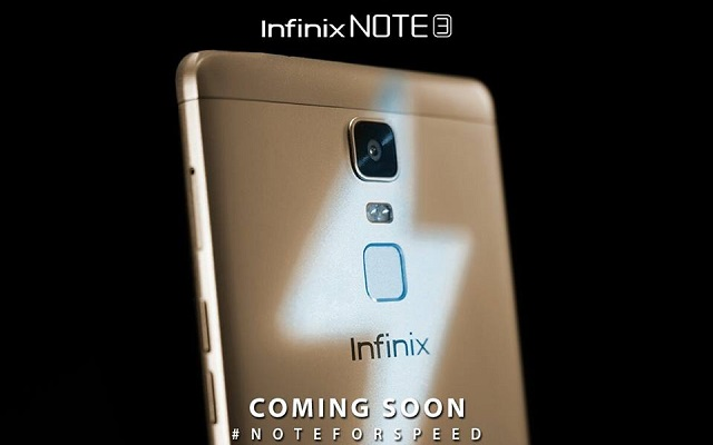 Infinix to Launch Note 3 with Super Fast 4500 mAh Battery