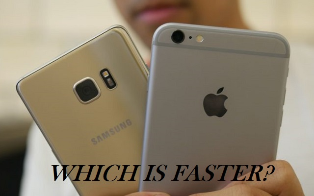 iPhone 7 vs Samsung Galaxy Note 7 Speed Test: which is Faster?