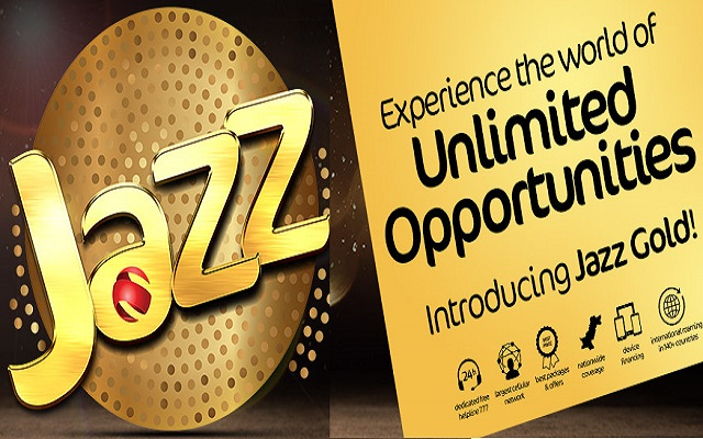 Now Experience Exclusive Packages and Services with Jazz Gold Offers