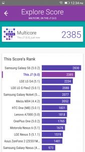 qmobile noir j7 vellamo scores
