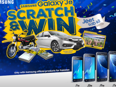 Now Buy Any Samsung J Series Phone and Win Honda Civic 2016