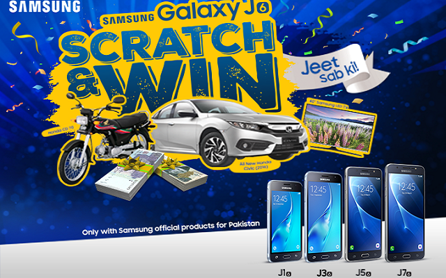 Now Buy Any Samsung J Series Phone and Win Honda Civic 2016