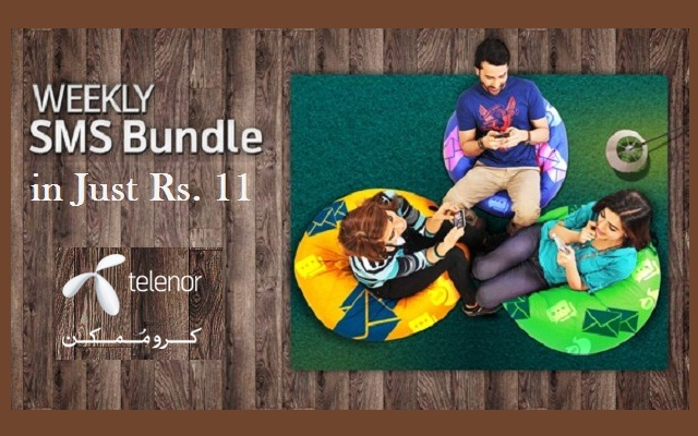 Telenor Introduces Weekly SMS Bundle in Just Rs 11