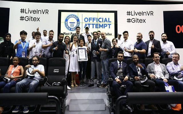 Dubai Successfully Achieves Virtual Reality World Record