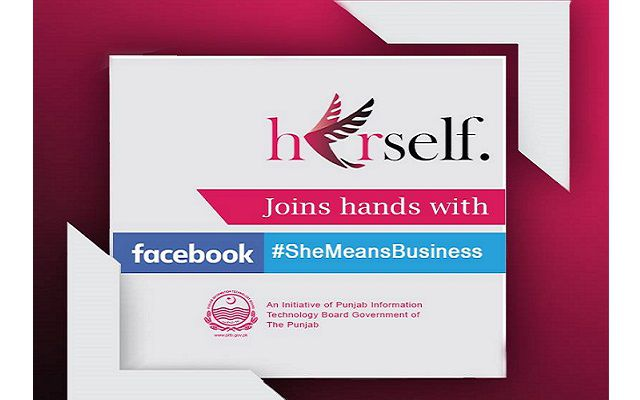 PITB's Herself Collaborates with Facebook to Leverage Women Entrepreneurs