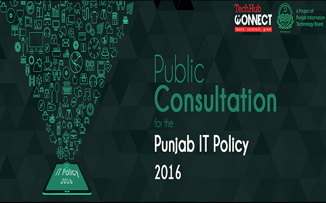 Punjab IT Policy Draft is Now Available for General Consultation