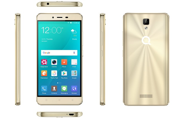 QMobile Noir J5 with 3D Mirror Body-Available Only in Rs 13990