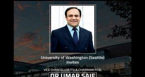 University of Washington Invites Umar Saif for a Lecture on Designing Technology