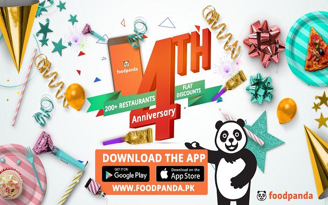 E-commerce Juggernaut, Foodpanda celebrates its 4th Anniversary