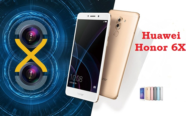 Huawei Launches Honor 6X in 3 Variant with Fingerprint Scanner