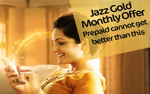 Jazz Launches Gold Monthly Offer in Just Rs 590