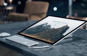 Microsoft Launches World's Thinnest Screen Desktop PC with 3D Features