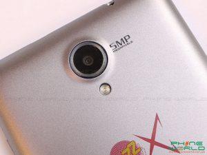 qmobile jazz js10 back camera flash light