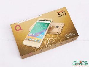qmobile noir i5.5 accessories retail box