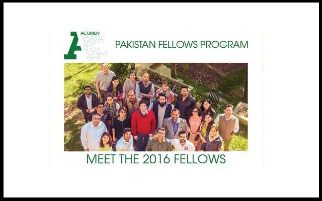 Let's Explore About the Coming Acumen Pakistan Fellows Program