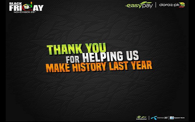The Winning Partnership: Easypaisa and Daraz Join Hands for Black Friday to Break Records Again