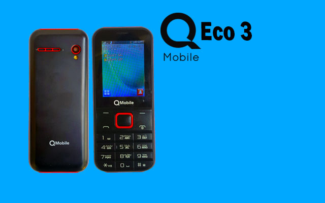 Photo of QMobile Launches Simple and Compact Design Phone Eco 3