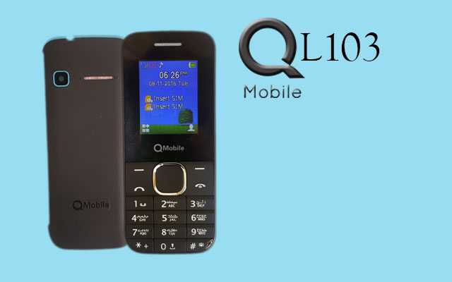 Photo of QMobile Latest Affordable Phone L103 in RS. 1460/-