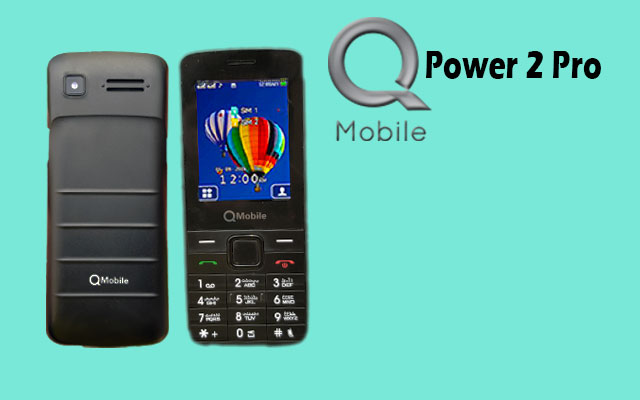 QMobile Feature Phone Power 2 Pro 2.4″- Dual Sim – Powerful battery – 3000 mAH