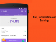 Fun, Information and Earning from Lock Screen App Slide