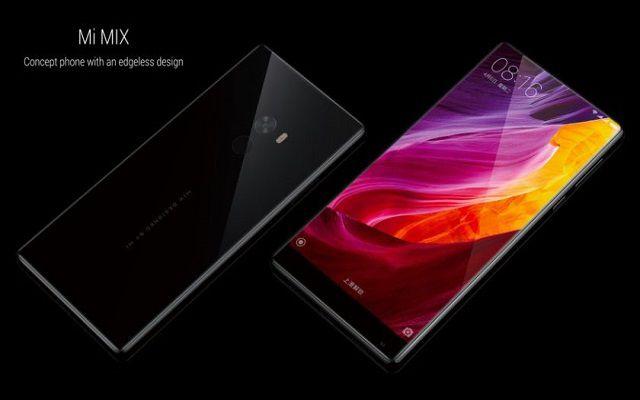 Xiaomi Introduces Mi Mix with Near Bezel-Less Display