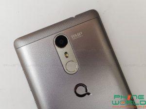 qmobile noir s6 plus back camera fingerprint scanner