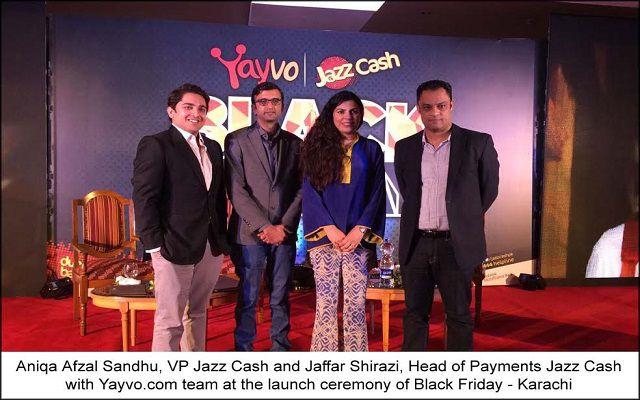 Yayvo – JazzCash Announces Black Friday 2016 Mega Discount Deals