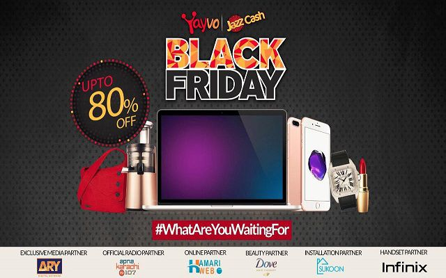 Yayvo Looted Black Friday Sales of 2016 in Pakistan